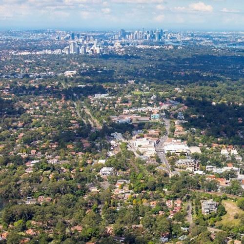 "Australia's COVID-19 policy response & the Suburban ""Near Office"" concept"
